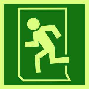 9288 - Running man symbol to left