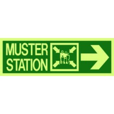4000 - Muster station / symbol / arrow right