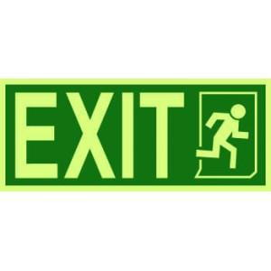 4300 - Exit / Running man symbol on right